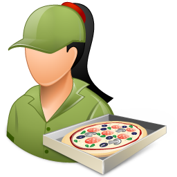 Pizzadeliveryman Female Light