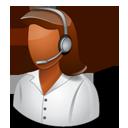 Tech Support Female Dark-128
