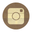Retro Instagram Rounded Icon