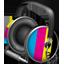 CMYK headphones Icon