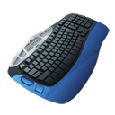 Keyboard Blue-128