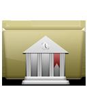 Folder Library Brown-128