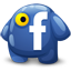 Facebook creature Icon