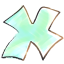 X Cartoon Icon