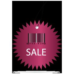 Sale Barcode Label