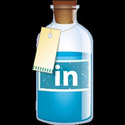 Linkedin Bottle