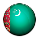 Flag of Turkmenistan-128