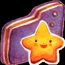 Starry Violet Folder-128