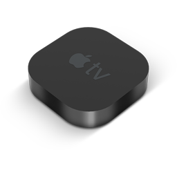 Black AppleTV-256