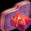 Personal Storage Violet Folder-128