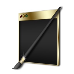 Theme Changer Black and Gold