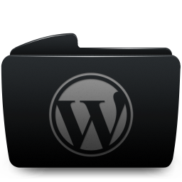 Folder black wordpress-256