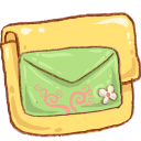 Folder Mail Green-128