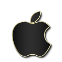 Apple Black and Gold-128