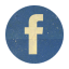 Retro Facebok Rounded Icon