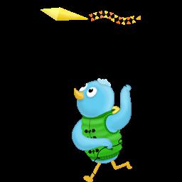 spring kite follow me