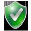 Checked shield green-64