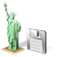 Statue of Liberty Save icon