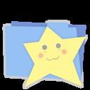 Blue folder favorites-128