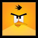 Yellow Angry Bird Frameless-128