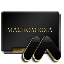 Macromedia Black and Gold