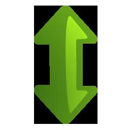 Arrow updown