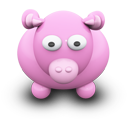Pink Cow-128