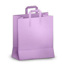 Paperbag Purple
