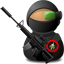 Sniper Soldier with Weapon-64