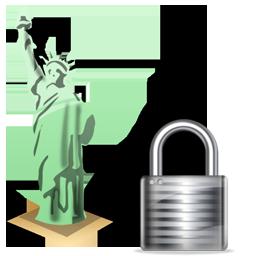 Statue of Liberty Lock