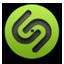 Shazam green icon