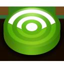 Rss green circle-128