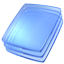 Blue Glass Icon