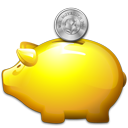 Golden Piggy Bank-128