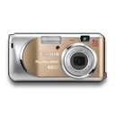 Canon Powershot A430 Orange