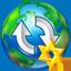World Upload Star icon