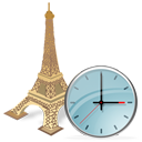 Eiffel Tower Clock-128