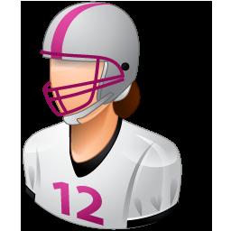 Footballplayer Female Light