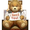 I Need You Bear