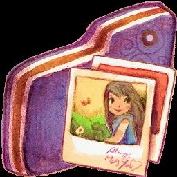 Pictures Violet Folder