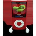 Red iPod Nano-128