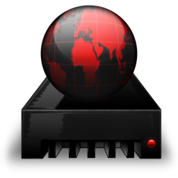 Network Drive black red