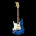 Stratocastor Guitar Blue-128