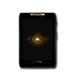 Gold Android Phone