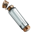 Sample vial empty icon