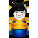 Geisha korea blue-128