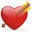 Bleeding heart icon