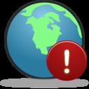 Globe warning-128