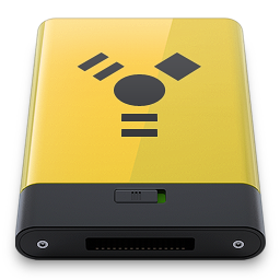 HDD Yellow Firewire
