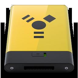 HDD Yellow Firewire